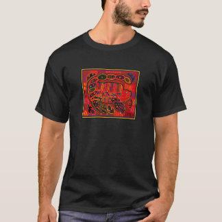 Kuna Indian Iguana Mola T-Shirt