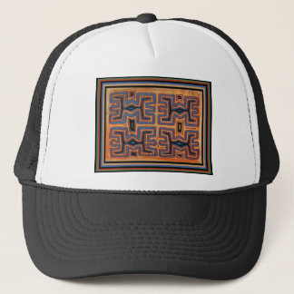Kuna Indian Spirit Canoe Trucker Hat