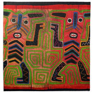 Kuna Indian Twin Spirits Napkin