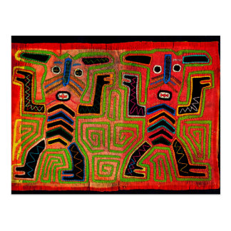Kuna Indian Twin Spirits Postcard