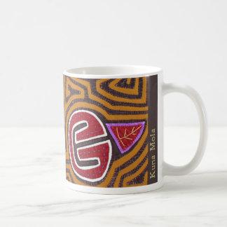 Kuna Mola- Pomegranate Classic White Coffee Mug