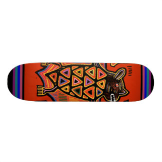 Kuna Tribal Bat Skateboard - VooDou Skateboard