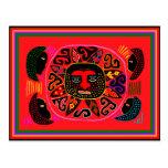 Kuna Tribal Del Sol Postal