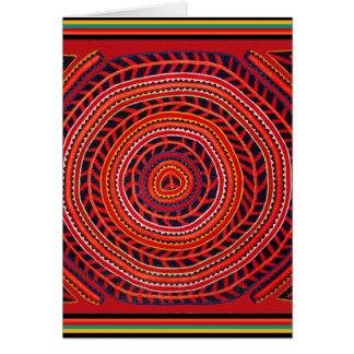 Kuna Tribal Universal Sun Card