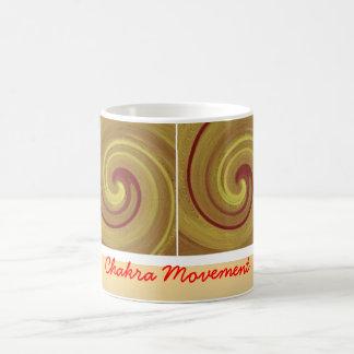 Kundalini Awakening Chakra Movement Classic White Coffee Mug