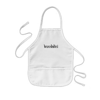 Kundalini Design on Sanskrit Style Kids' Apron