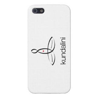 Kundalini - estilo regular negro iPhone 5 fundas