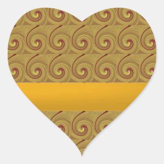 Kundalini que despierta el movimiento de Chakra Pegatina En Forma De Corazón