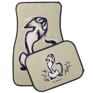 kuneri cat (Siamese cat) Car Mat