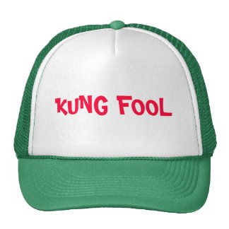 KUNG FOOL TRUCKER HAT