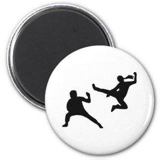 Kung Fu 2 Inch Round Magnet