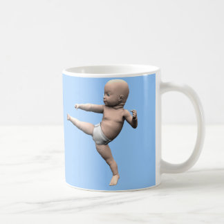 Kung Fu Baby Mug