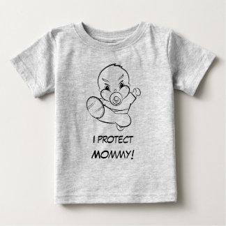 Kung Fu Baby protects Mommy Tee-Shirt Tee Shirt