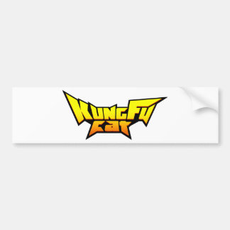 Kung Fu Cat Collection Bumper Sticker