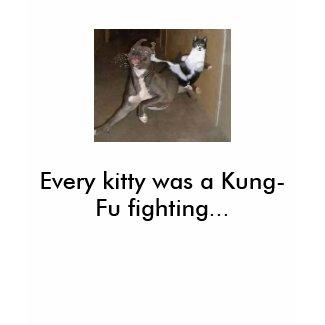 Kung Fu cat shirt