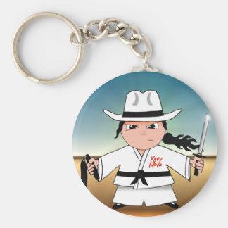 Kung Fu Cowboy Keychain!