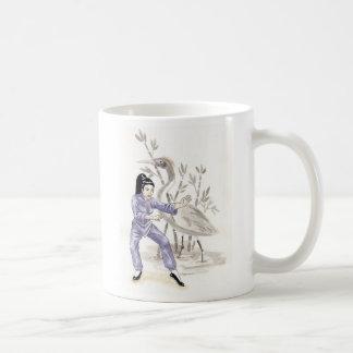Kung FU Crane Coffee Mug