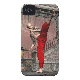 Kung Fu - Crescent High Kick iPhone 4 Case-Mate Case