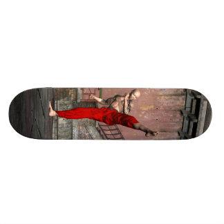 Kung Fu - Crescent High Kick Skateboard Deck