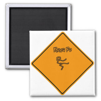Kung Fu - customize it 2 Inch Square Magnet