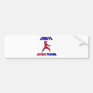 Kung Fu design Bumper Sticker