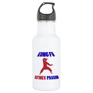 Kung Fu design Stainless Steel Water Bottle