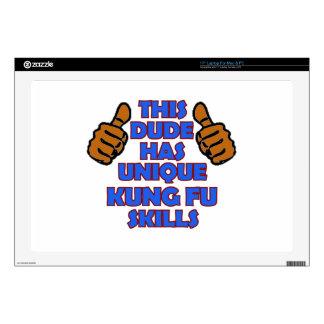 "Kung fu Designs 17"" Laptop Decal"