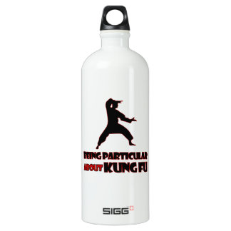 KUNG FU Designs Aluminum Water Bottle