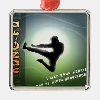Kung-Fu divertido Ornamento Para Reyes Magos