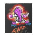 Kung Fu Elephant Scratch Pads