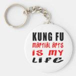 Kung Fu es mi vida Llaveros