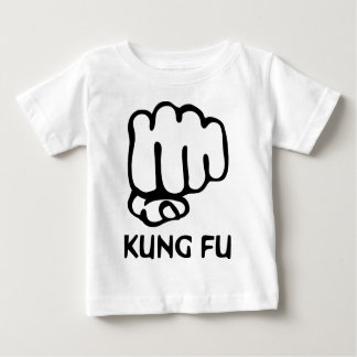 kung fu fist icon baby T-Shirt