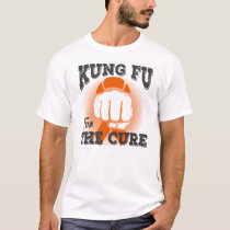 Kung Fu For The Cure Leukemia Cancer Shirt