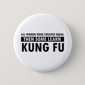 Kung Fu gift items Pinback Button