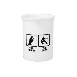 Kung Fu Jarras Para Bebida