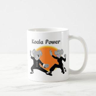 Kung Fu Koalas Classic White Coffee Mug