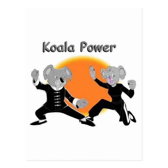 Kung Fu Koalas Postcard