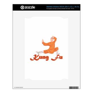 Kung Fu Kung Fu Skin For NOOK