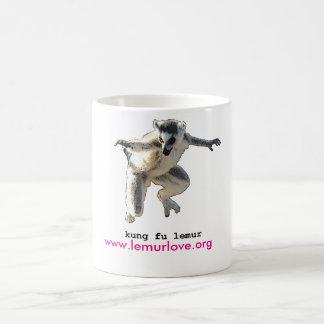 kung fu lemur love mug