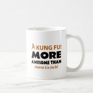 Kung Fu Martial arts gift items Classic White Coffee Mug