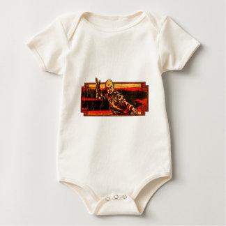 Kung Fu Master Baby Bodysuit