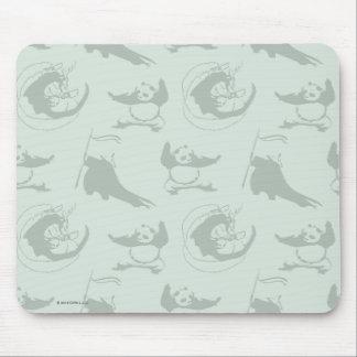 Kung Fu Panda Pattern Mouse Pad