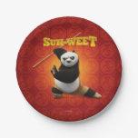 Kung Fu Panda | Po Warrior Birthday Paper Plate