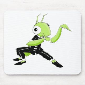 Kung Fu Praying Mantis Mouse Pad