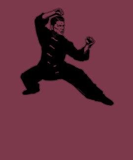 Kung Fu Reagan Tshirt