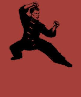 Kung Fu Reagan Tshirts