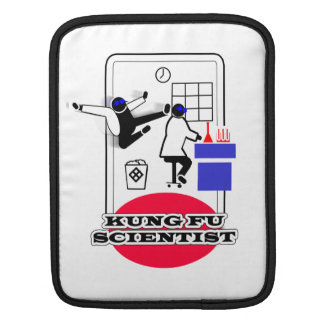 Kung Fu Scientist iPad Sleeves