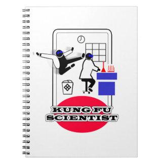 Kung Fu Scientist Notebook