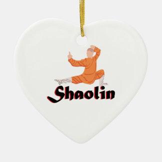 Kung Fu Shaolin Ceramic Ornament