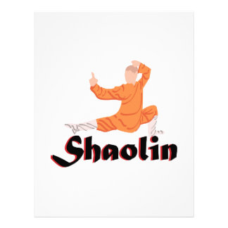 Kung Fu Shaolin Letterhead Design